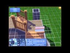 The Sims 3 Tutorial: L-Shaped Stairs - YouTube