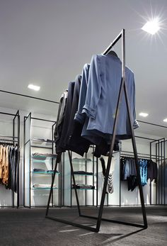 YABU PUSHELBERG Boutique Design, Boutique Interior, Fashion Store Design, Clothing Store Design, Retail Store Design, Retail Shop, Modegeschäft Design, Tienda Pop-up, Metal Wood