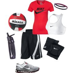 """love volleyball !!!"" by mdgirlevr on Polyvore"