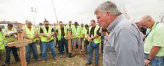 Franklin Graham in Moore, Oklahoma--Samaritan's Purse helping in Oklahoma