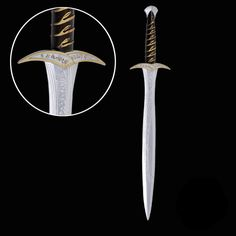 The Lord of the Rings Hobbit Frodo Baggins Cosplay Sting Sword PU&Foam Figure Radagast The Brown, Cosplay Sword, Foam Packaging, Types Of Swords, Frodo Baggins, My Precious, Lord Of The Rings, Tolkien, The Hobbit