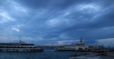 İzmir'de vapur seferleri lodos nedeniyle iptal edildi