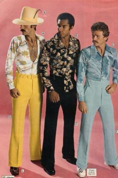 "It was a time when it was completely acceptable for men to wear bellbottoms, and being ""groovy"" was a thing.   1. This giraffe-print bodysui..."