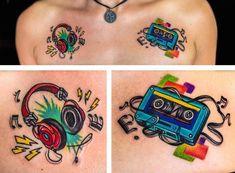 Music Tattoos  #music #musictattoo #headphones #tattoo #art #tatuajes #weslytattoos #arte #tattoolife #costarica #puravida #tatuaje #tattoos #ink #inked #tattooart #inkstagram #bodyart #costaricatattoo #fusionink #inkeeze #fkirons