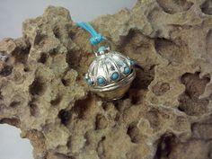 #yleniaparasiliti #design #angelcaller #chiamaangeli #pendant #pendente #name #nome #silver #argento #turquoise #turchese #Messina #jewelry #gioielli #handmade