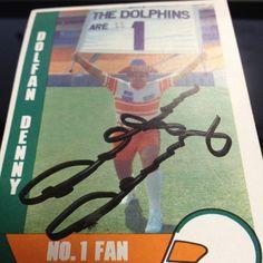 RIP Dolfan Denny. #miami #dolphins - @raulizm- #webstagram