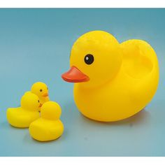 Five Bags  Wholesale Baby Bath Sound Yellow Rubber Ducks Toys Squeaky Classic Water Floating Cartoon Toy Soft Children Educa