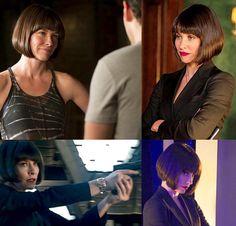Evangeline Lily as Hope Van Dyne in Ant-Man