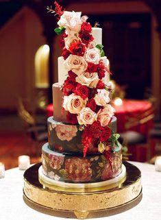 Los mejores pasteles de boda. Tendencias pastel de boda. Las mejores ideas de pastel de bodas. Conoce todo de las tortas para matrimonio, tortas de bodas. Table Decorations, Cake, Desserts, Ideas, Food, Best Wedding Cakes, Sugar Flowers, Cake Designs, Tailgate Desserts