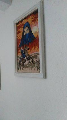 Vysivocka / vyšívaný obraz Frame, Painting, Home Decor, Art, Picture Frame, Art Background, Decoration Home, Room Decor, Painting Art