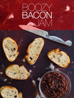 Boozy Bacon Jam - I know someone that would love this. Sounds a bit beyond my competency though