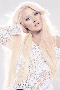 Christina Aguilera she's gorgeous and all over perfection✨If I could pick any person in the world to look like, it would be her.  Not to mention she is the complete package.  Beautiful and super talented.