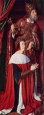 Pierre de Beaujeu. Anne de Beaujeu exerce la régence avec son mari. Contrairement aux attentes des princes du royaume, elle contient la noblesse, maintient fermement contre le duc d'Orléans l'autorité royale et l'unité du royaume et mettant un terme à la Guerre Folle en 1488 à St Aubin du Cormier. Ces contestations avaient commencé dès la mort de Louis XI, elle convoque les Etats Généraux à Tours pour leur éviter la pression de Paris.