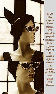 d07c7d929b05 Big City Style Magazine feature Mercura NYC New Age Glamour original big  pot pearl sculpted art