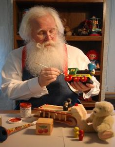 the truth about santas workshop Santa claus is one of the most high profile dudes all about santa's elves holidays 65 0 reindeer christmas santa claus toys north pole toy workshop elf.