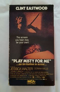 Play Misty for Me (VHS, 1987) Clint Eastwood's Directorial Debut in DVDs & Movies, VHS Tapes | eBay Christmas Shopping