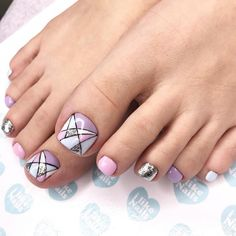 Acrylic Nails Coffin Pink, Fingernails Painted, Pink Nails, My Nails, Simple Toe Nails, Pretty Toe Nails, Nail Designs Spring, Simple Nail Designs, Elegant Touch Nails