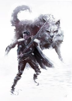 Jon Snow by brahamil