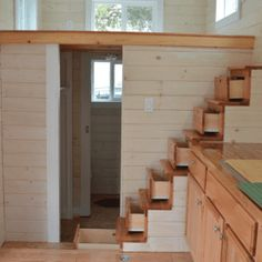 Image result for tiny house stair measurements Tiny House Stairs
