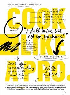 Creative Design, Cook, and Pro image ideas & inspiration on Designspiration Book Design Layout, Page Layout, Corporate Design, Print Design, Web Design, Cookbook Design, Typographic Poster, Publication Design, Grafik Design