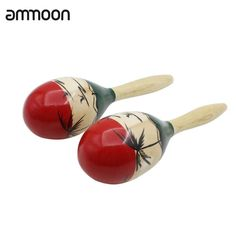 Pair of Wooden Large Maracas Rumba Shakers Rattles Sand Hammer Percussion Instrument Musical Toy for Kid Children Party Games Musical Toys For Kids, Kids Toys, Egg Shakers, Kids Electronics, Cheap Toys, Beach Toys, Kids Party Games, Percussion Instrument, Gifts For Kids