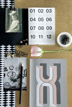 Styling by Hallingstad. Bau Deco Notebook from ferm LIVING. www.fermliving.com