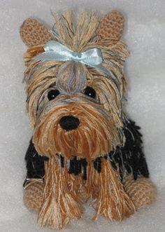 Блог рыжей лисицы: Вязание крючком. Игрушка - собачка.