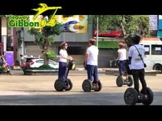 Segway Gibbon. The ancient city of Chiang Mai is filled with beautiful temples and landmarks. Segway Gibbon offers tours on a Segway Personal Transporter(PT) - the world's first electric, self-balancing personal transport vehicle. You can can have more fun with your tour and see twice as much in half the time. One of the latest original activities in Thailand that upgrade city exploring to a higher level of tourism.