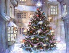 #Christmastree #vintage