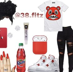 Boujee Outfits, Baddie Outfits Casual, Swag Outfits For Girls, Cute Teen Outfits, Cute Outfits For School, Teenage Girl Outfits, Girls Fashion Clothes, Teenager Outfits, Dope Outfits