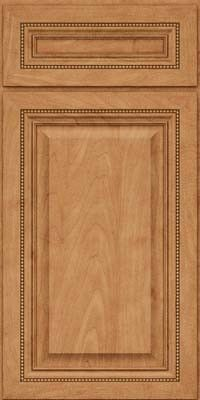 KraftMaid Cabinets -Square Raised Panel - Solid (ALM) Maple in Toffee from waybuild