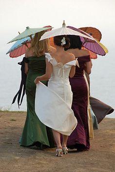 oh!myWedding: Parasoles en las bodas de verano