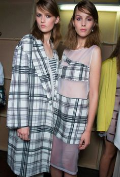 Behind the scenes at the #Topshop Unique SS13 show.
