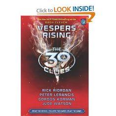 Vespers Rising (The 39 Clues, Book 11): Rick Riordan, Peter Lerangis, Gordon Korman, Jude Watson: 9780545290593: Amazon.com: Books