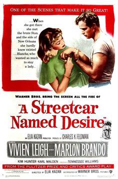 A Streetcar Named Desire (1951) - Br: Um Bonde Chamado Desejo.