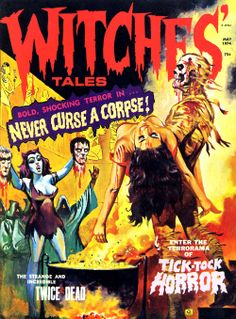 Witches Tales, May 1974 from gregorysshocktheater