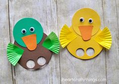 Do you know how much I adore birds and bird crafts? They are pretty much my favorite! One activity we look forward to every spring is visiting local ponds and feeding the ducks. We get especially giddy when we see little ducklings because they are so adorable! The creative preschool theme this week is all …