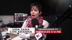 Vida Sana con Arianna   Promo KbuenaRadio tv Tv, Healthy Life, Tvs, Television Set