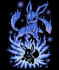 The Ice Evolution Within Anime & Manga Poster Print Festa Pokemon Go, 3d Pokemon, Pokemon Eevee Evolutions, Pikachu Art, Pokemon Comics, Pokemon Fan Art, Pokemon Backgrounds, Cool Pokemon Wallpapers, Cute Pokemon Wallpaper