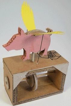 animated flying pigs - Google Search