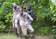 "Tyreese (Chad L. Coleman) in Episode 403, ""Isolation"""