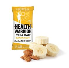 Health Warrior Chia Bars, Banana Nut, 13.2-Ounce (Pack of 15) >>> Be sure to check out this awesome product.