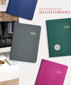 2014 Datebooks #giftidea