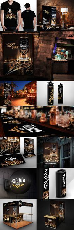 Brand Campaign, Print Ads, Pos, Logo Branding, Beer, Strong, Social Media, Digital, El Diablo