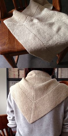 Orlane's Textured Shawl: How to | Knitting - Free pattern
