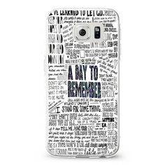 a day to remember have faith in me samsung galaxy S3,S4,S5,S6 cases