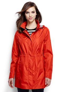 Women's Lightweight Packable Rain Coat from Lands' End