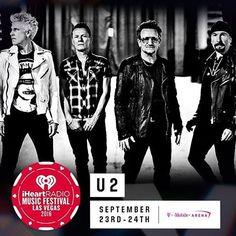 #U2 en el #iHeartRadio Music Festival 2016 el 23 de Septiembre en #LasVegas #Presale para MasterCard Exclusive  fb.me/HBoWh5VW #USA #songsofexperience