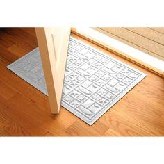 Bungalow Flooring Water Guard Nautical Indoor / Outdoor Mat - 2 x 3 ft.