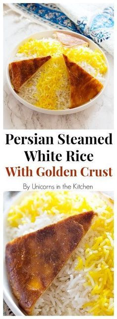 Persian Steamed White Rice is the base for many Persian meals! Learn it the easy and practical way once and forever , then enjoy it with different stews and protein!